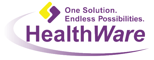 Healthware Logo; One Solution, Endless Possibilities